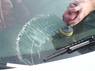 Window crack repair kit